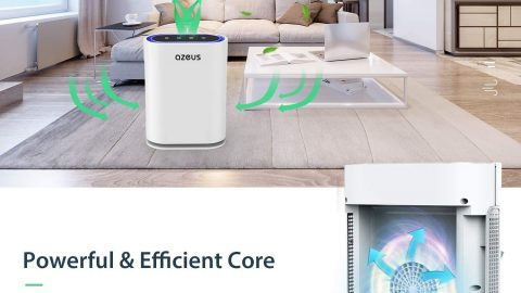 AZEUS 7-in-1 Air Purifier for Large Room