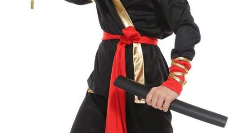 Boys Ninja Deluxe Costume for Kids