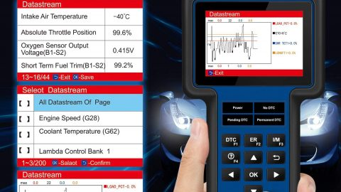 Car Diagnostic Tool for Engine ABS SRS Systems