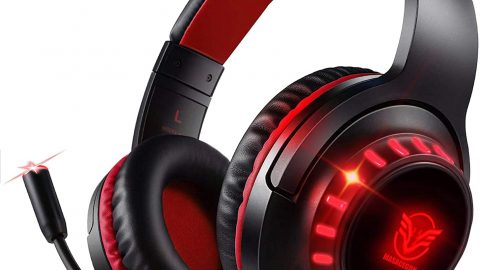 Gaming Headset for PS4 Xbox One PC