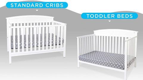 Hypoallergenic Baby Crib Mattress and Toddler Bed Mattress