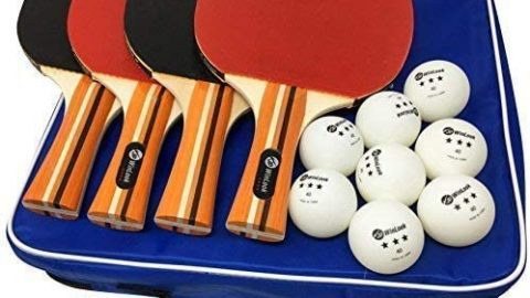 Ping Pong Paddle - 4 Player Pack