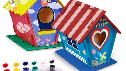 Poscoverge DIY Bird House, Craft for Kids