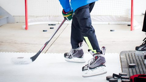 Synthetic Ice for Hockey