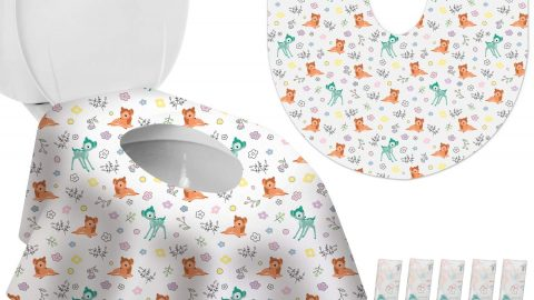 Toilet Seat Covers Disposable XL 10 Pack for Kids