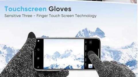 Winter Gloves Touchscreen for Men Women