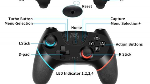 Wireless Switch Pro Controller